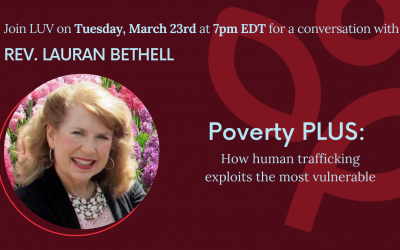 Women Making History: Join Rev. Lauran Bethell on Poverty PLUS